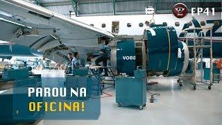 O que Acontece em uma Oficina de Manutenção de Aviões?