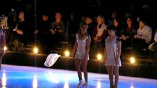 Москва, открытие шоу, Ходынка, 26 12 2008,Гордеева