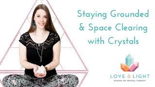 Staying Grounded & Space Clearing with Healing Crystals: An Interview with Energy Muse