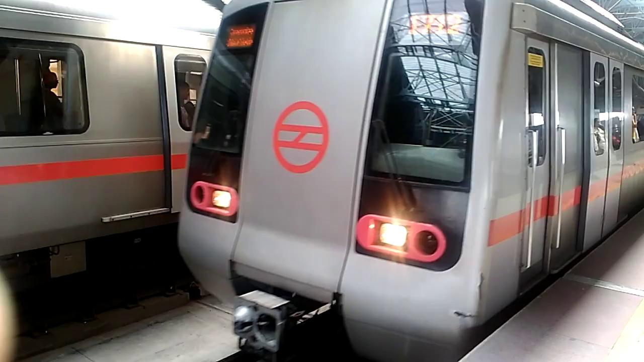 Image result for Delhi Metro's Red Line