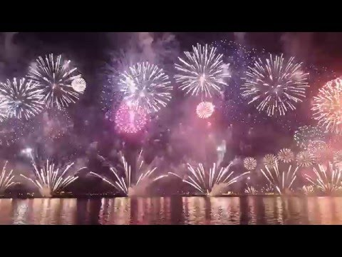 Qatar National Day Fireworks 2015 - Full show