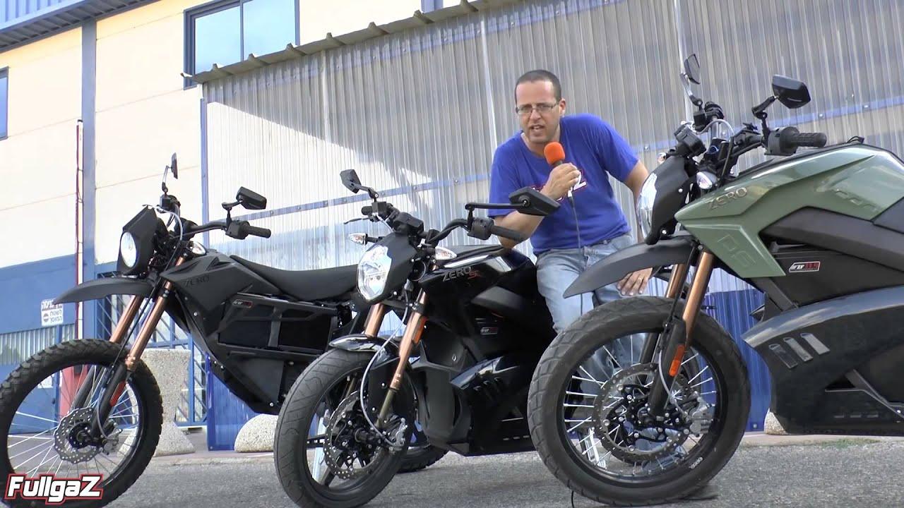 פנטסטי ZERO סיבוב הכרות אופנועי 'זירו' Fullgaz Review 1080p - YouTube RF-74