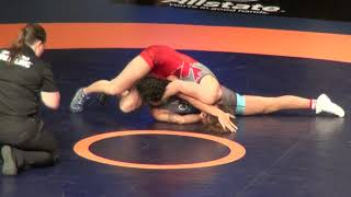2019 Canadian Trials WW50kg Madi Parks (London) vs Ligaya Stinellis (Hamilton)