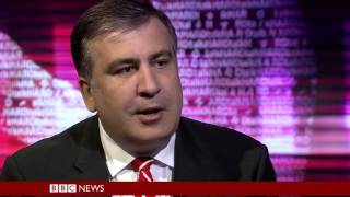 HARDtalk   Mikheil Saakashvili Governor of Odessa Region, Ukraine Русские субтитры