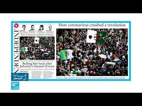 هكذا استفاد النظام الجزائري من وباء كورونا لقمع الاحتجاجات  - نشر قبل 18 ساعة