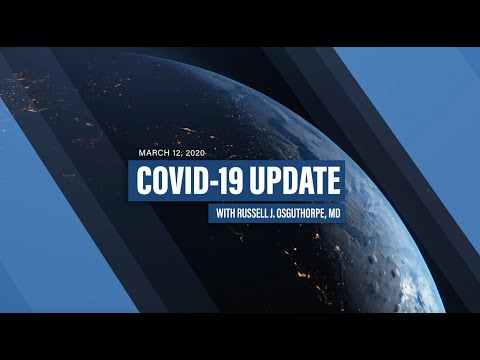 DAILY COVID-19 UPDATE | Episode 2 | 3/13/2020