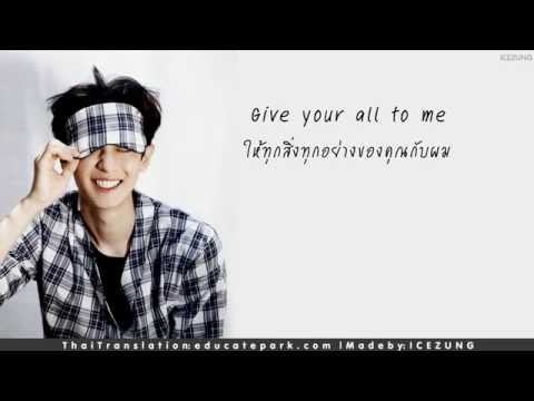 || THAISUB - LYRICS || All of Me - Park Chanyeol (Audio)