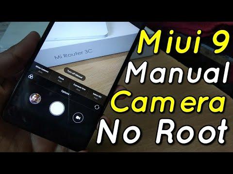 Miui 9 Manual Camera Mod Apk No Root No TWRP Just install & Enjoy | Hindi -  हिंदी