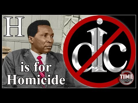DicKtionary - H is for Homicide - Francisco Macias Nguema
