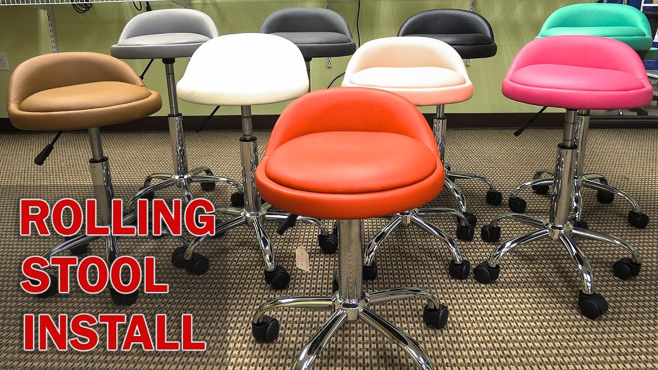 Rolling Stool Chair Swivel Northern Ireland Adjustable Medical Great For Massage
