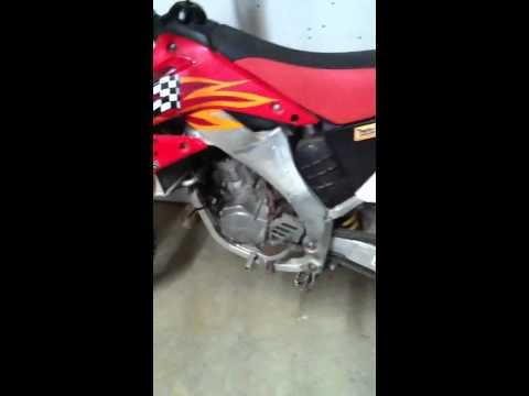 Honda cr. 125 2 stroke