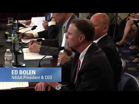 Full Opening Statement by NBAA's Ed Bolen Before Senate Commerce Committee