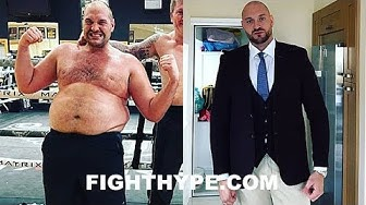 TYSON FURY STUNNING WEIGHT LOSS TRANSFORMATION; SERIOUS PROGRESS AFTER YEAR-LONG JOURNEY