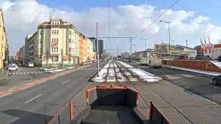 Прага – трансляция с веб-камеры на трамвае