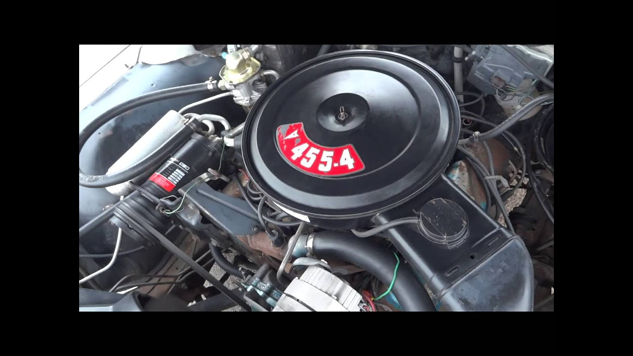 1975 pontiac grand ville 455 convertible classic - youtube  youtube