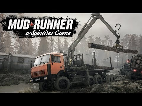 spintires mudrunner co op xbox one ps4 more. Black Bedroom Furniture Sets. Home Design Ideas