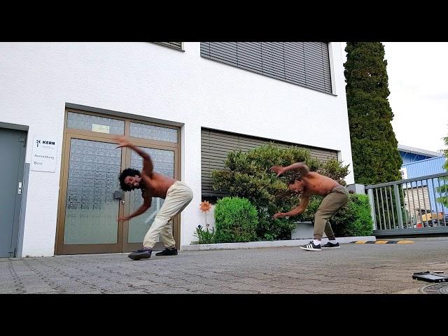 Formando Shock & Gugu Quilombola training