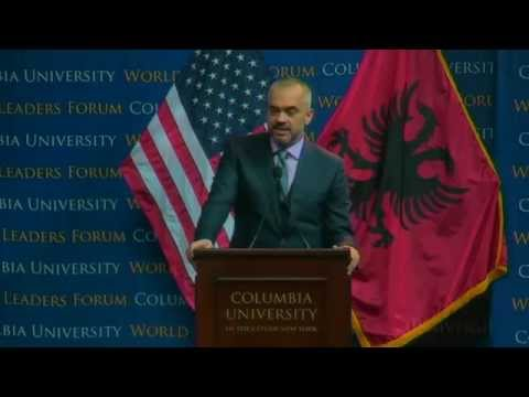 World Leaders Forum: Edi Rama, Prime Minister of the Republic of Albania