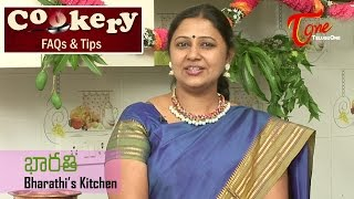 Cookery Tips & FAQs || How to Prepare Idli Manchuria