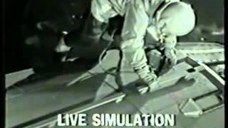 Джемини-9 ч.2 симуляция выхода в космос