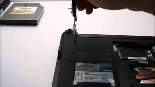 ASUS A40J 노트북 분해(Laptop disassembly)