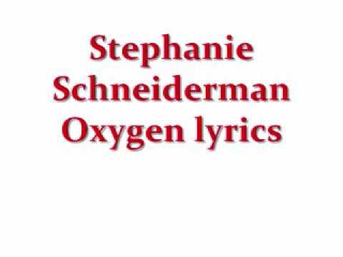 Клип Stephanie Schneiderman - Oxygen