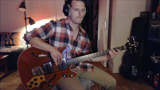 Jefferson Airplane - D.C.B.A-25 (Bass cover)