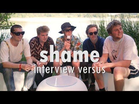 shame - Interview Versus (Eurockéennes 2017)