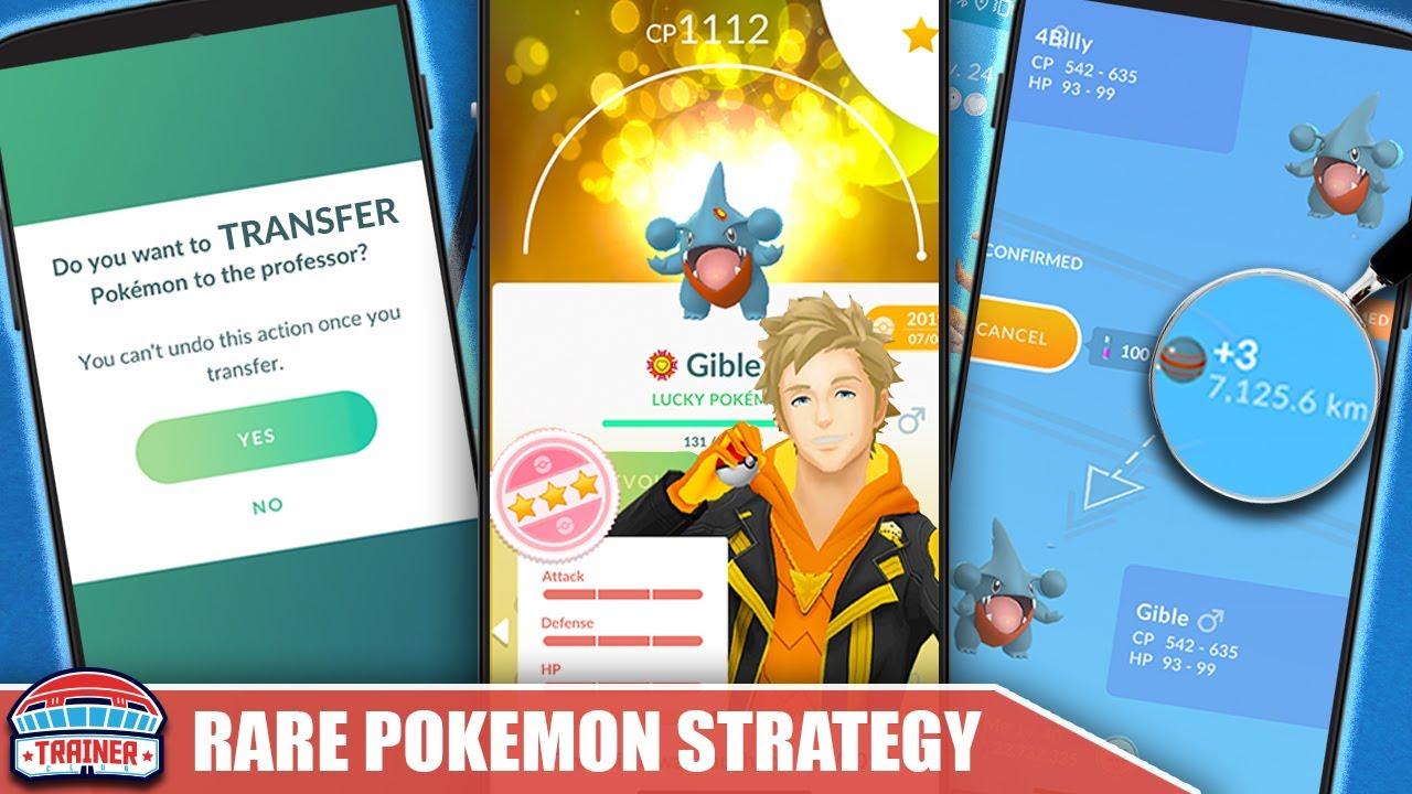 SAVE YOUR RARES - BEST *CANDY STRATEGY* FOR RARE POKÉMON - SPOTLIGHT HOUR MAXIMIZATION   Pokémon GO