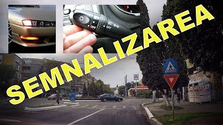 MANEVRE DE SEMNALIZARE | Cand si cum se semnalizeaza corect in trafic