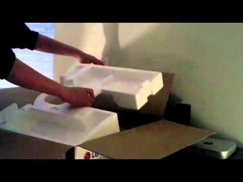 How I Got a Free LG E2350V 23- LED Monitor -- Unboxing