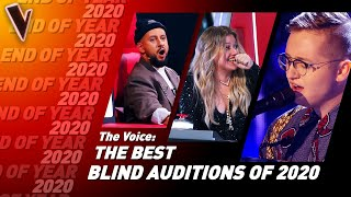 The BEST Blind Audiтions of 2020 on The Voice | Top 10