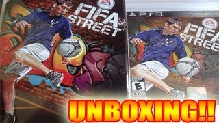 Unboxing Fifa Street Edicion Especial PS3