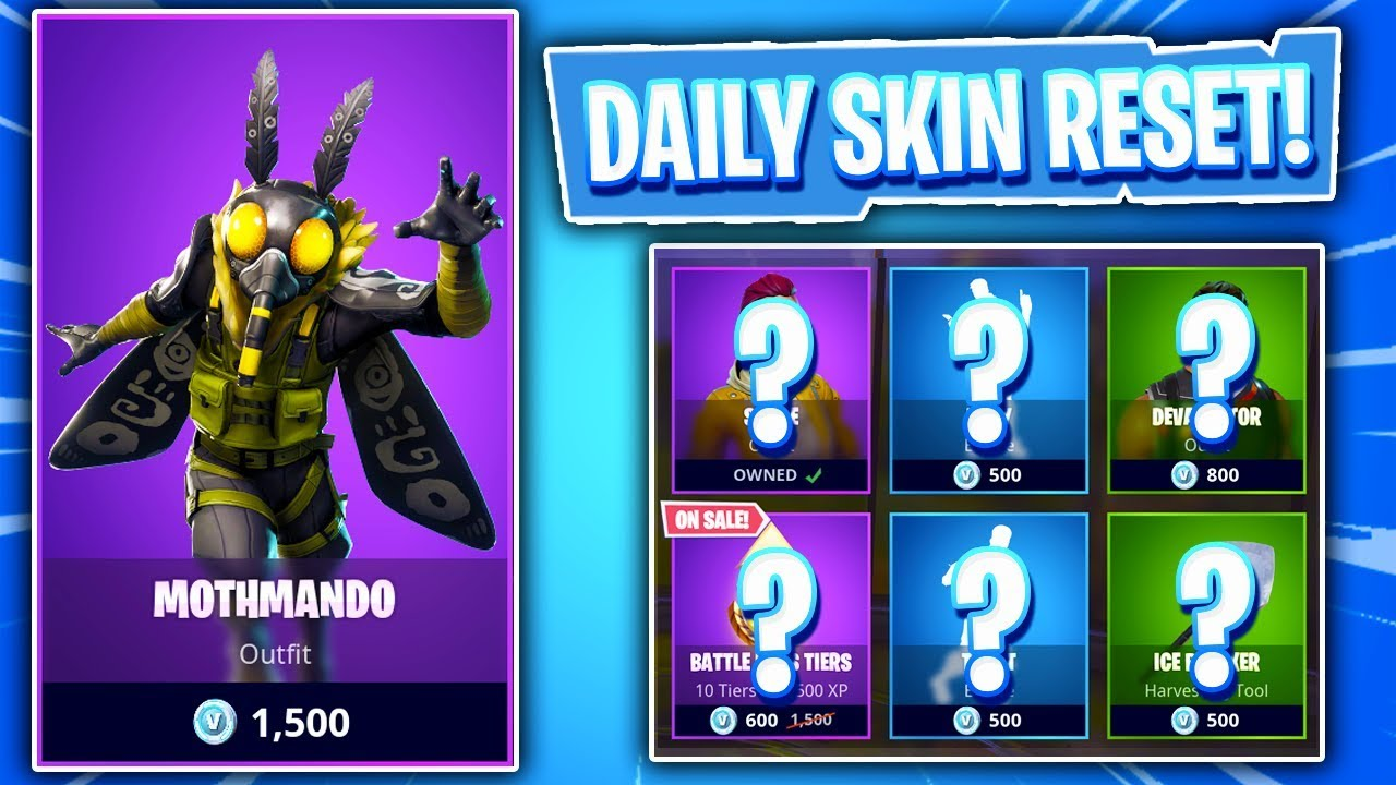 An Actual Moth Skin Fortnite Item Shop Daily Featured Items