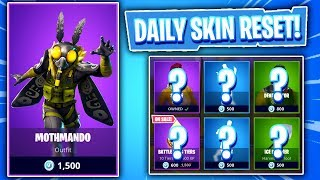 AN ACTUAL MOTH SKIN... Fortnite Item Shop! Daily & Featured Items! (Skin Reset #294)