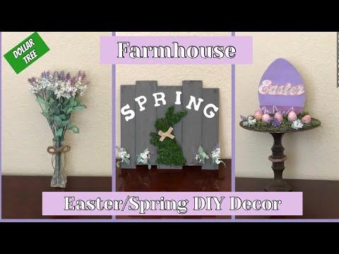 Easter/Spring DIY Farmhouse  Decor