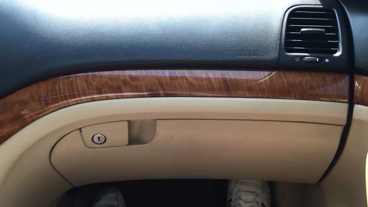 Acura TSX DIY Cabin Air Filter - YouTube
