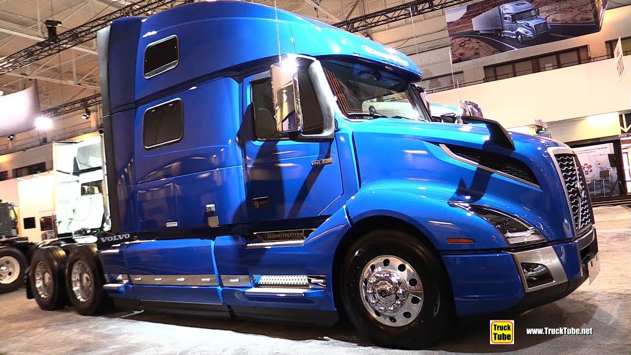 2019 volvo vnl 64t 860 globetrotter xl sleeper - exterior interior walkaround
