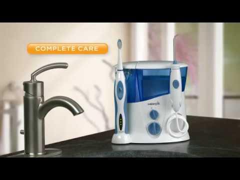 73293e522 Higienizador Irrigador Oral Fio Dental de Água Waterpik® WP-900 ...