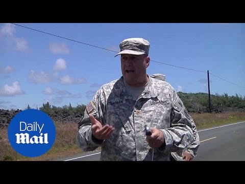 National Guard update as 20 fissures open from Hawaii Volcano - Daily Mail