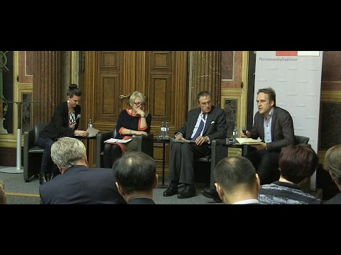 Discussion round: The challenges of the OSCE and the role of the Parliamentary Assembly