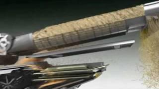 Kombajn zbożowy Massey Ferguson MF DELTA hybrydowy animacja systemu hybrydowego