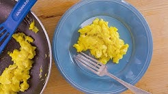Fluffy Olive Oil Scrambled Eggs