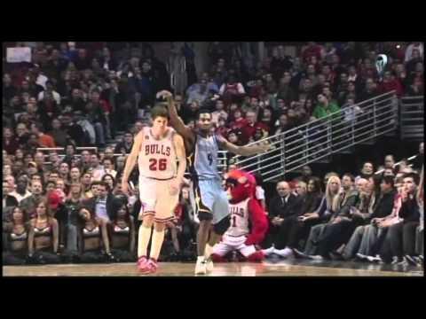 Tony Allen Highlights #2 Memphis Grizzlies 2010-11