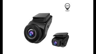 Vantrue S1 Dual Dash Cam 1080P FHD Front and Rear Super Capacitor Dash Camera