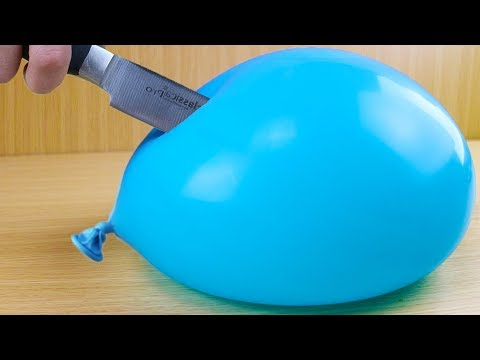 WATER BALLOON THAT NEVER POPS!! (IMPOSSIBLE CHALLENGE)