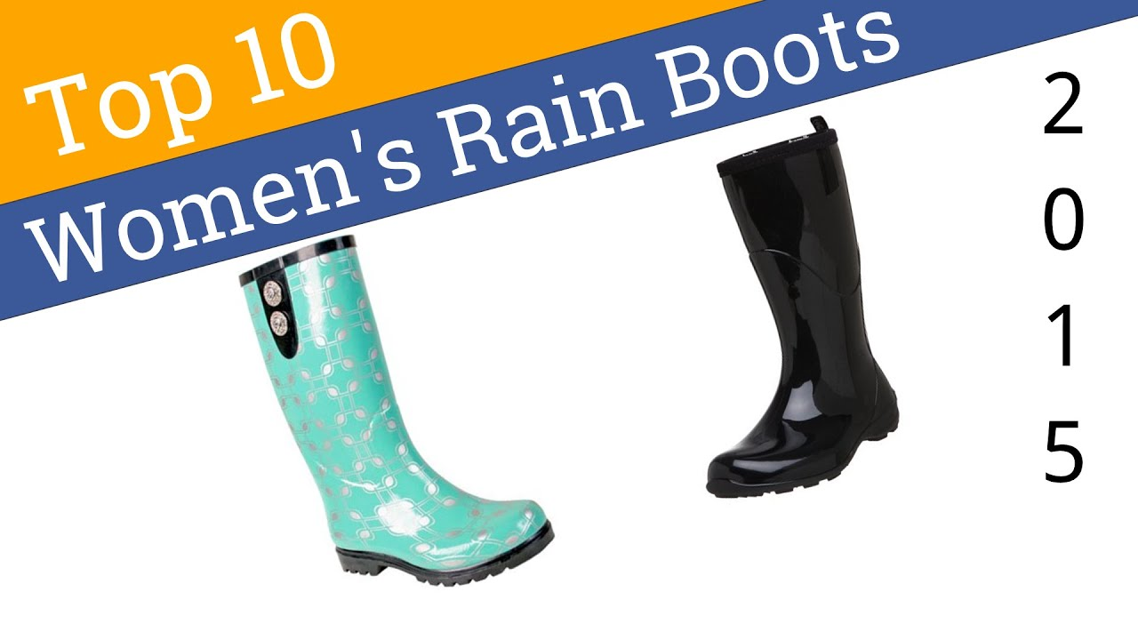 10 Best Women&39s Rain Boots 2015 - YouTube