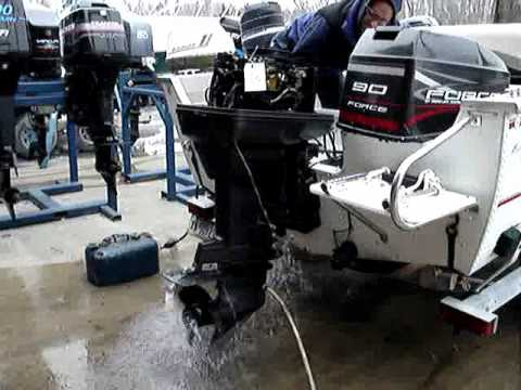 1996 Force 90 Hp 2 Stroke Outboard Motor