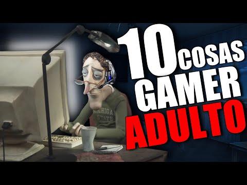 10 COSAS de GAMER ADULTO 👴👵 Los DESAFÍOS de JUGAR en la EDAD ADULTA