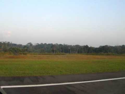 BRUSSELS AIRLINES A330 LANDING AT YAOUNDE AIRPORT